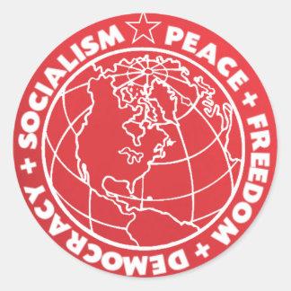 Socialistisk klistermärke