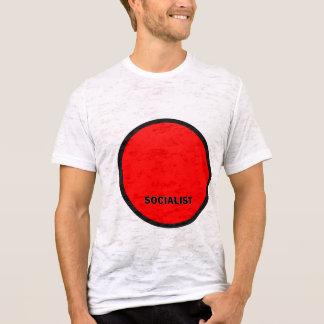 Socialistisk Roundel kvalitets- flagga T-shirt