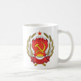 Socialistisk Ryssland medborgareemblem Kaffemugg