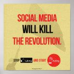 Socialt massmedia ska döda print