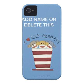SOCK MONKEY knappt där FODRAL för iPhone 4/4S Case-Mate iPhone 4 Skal