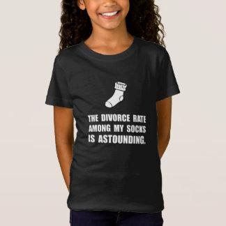 Sockaskilsmässa T-shirts
