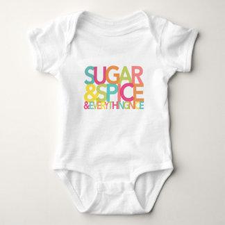 Socker och krydda och allt trevlig skjorta tee shirts