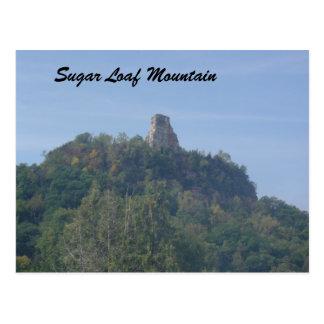 Socker släntrar berg vykort