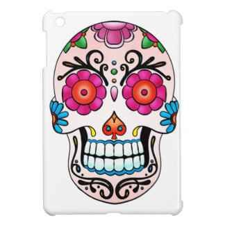 Sockerskalle - day of the dead, tatuering, Mexico iPad Mini Skydd