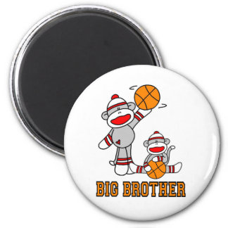 Sockmonkey basketstorebror magnet