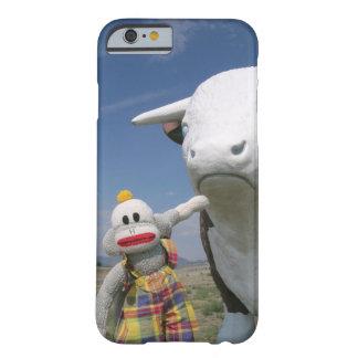 SockMonkey och vän Barely There iPhone 6 Fodral