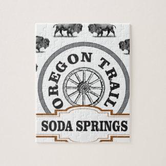 Soda Springs räv och bison Pussel