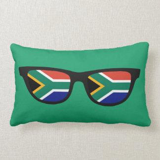 Södra - afrikanen skuggar beställnings- dekorativ lumbarkudde