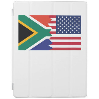 Södra - afrikansk amerikanflagga iPad skydd