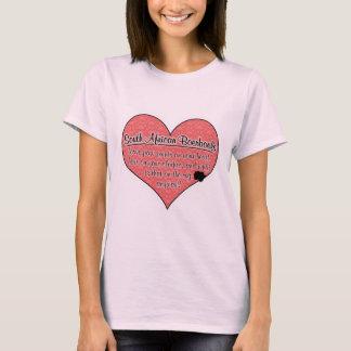 Södra - afrikansk humor för Boerboel tass T-shirts
