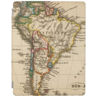 Södra - amerikankarta iPad skydd