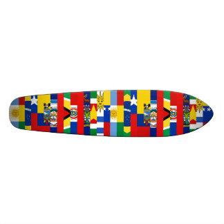 Södra - amerikanska flagganSkateboard Anpassad Skate Board