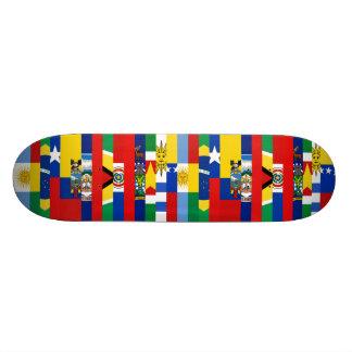 Södra - amerikanska flagganSkateboard Mini Skateboard Bräda 18,5 Cm