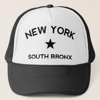 Södra Bronx New York lastbilsförarelock Truckerkeps
