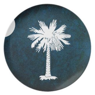 Södra Carolinan flagga; Tallrik