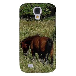 Södra Dartmoor för Devon kustenväg ponny Grazeing Galaxy S4 Fodral