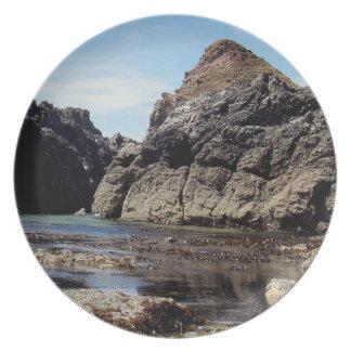 Södra Devon östliga Prawle till Gara sten Tallrik