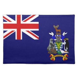 Södra Georgia och södra smörgåsöflagga Bordstablett