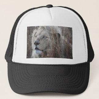 Södra - lejont slut för afrikansk vit upp keps