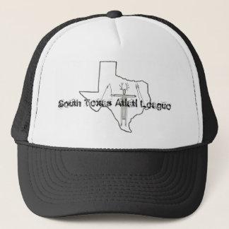 Södra lock för Texas Atlatl ligalastbilsförare Keps