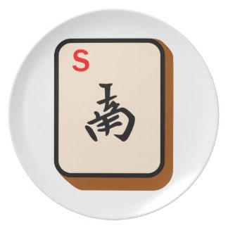 Södra Mahjong Tallrik
