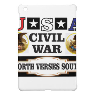 Södra norr verses för USA inbördeskrig iPad Mini Fodral