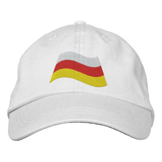 Södra Ossetia flagga Broderad Keps
