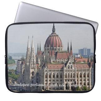 Södra sida för Budapest parlament, Ungern Laptop Fodral