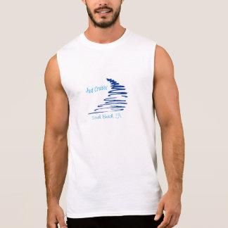 Södra strand för Squiggly Lines_Just Cruisin'_, Sleeveless T-shirt