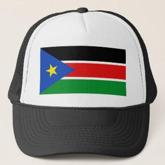 Södra Sudan flaggahatt Keps