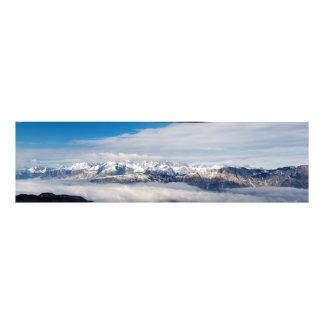Södra Tyrol för panorama italien Fototryck