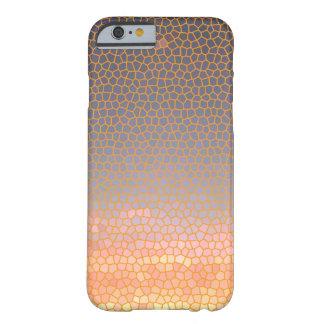 Sofistikerat chic elegantt orange- och barely there iPhone 6 skal