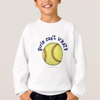 Softball-Blått Tee