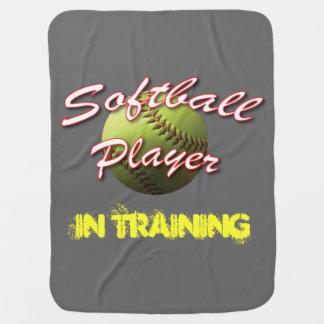 Softballbabyspelare i utbildning