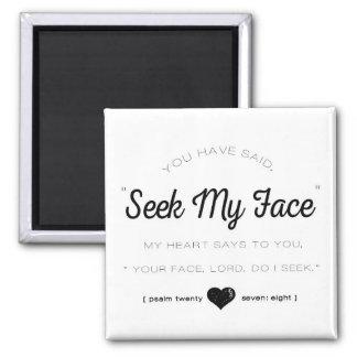Sökanden mitt ansikte, PsalmScripture