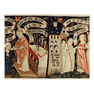 Sökandet efter sanning, tysk, c.1490 vykort