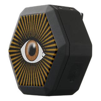 Sol- brunt öga svart bluetooth högtalare