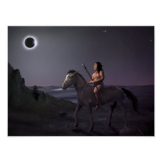 Sol-Eater - indiankonstaffisch 12x16