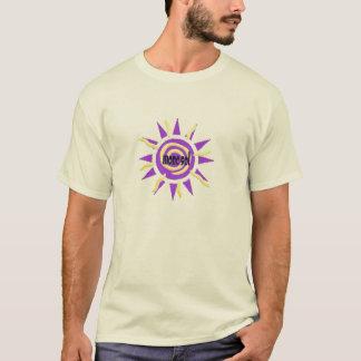 Sol för lilor för utslagsplats för Mona Tshirts
