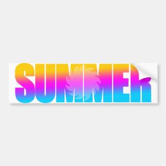 Sol för sommar för Corey tiger80-tal Bildekaler