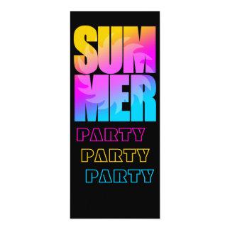 Sol för sommar för Corey tiger80-tal 10,2 X 23,5 Cm Inbjudningskort
