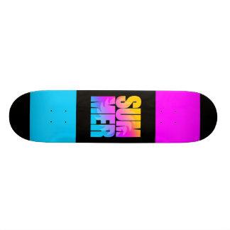 Sol för sommar för Corey tiger80-tal Skateboard Deck