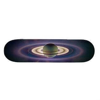 Sol- förmörkelse av Saturn från det Cassini Old School Skateboard Bräda 21,6 Cm