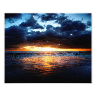 Sol, hav & Sand Fototryck