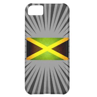 Sol kysst Jamaica flagga iPhone 5C Fodral