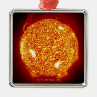 Sol med sol- signalljus julgransprydnad metall