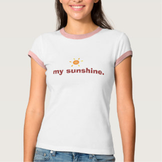 sol min sunshine. t-shirts