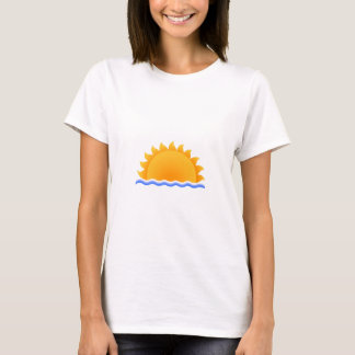 Sol över vatten t-shirt