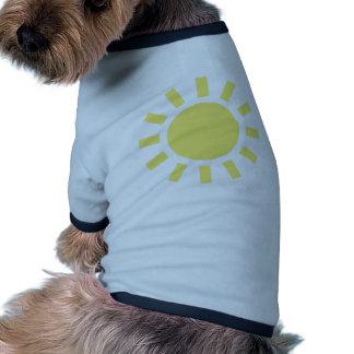Sol Retro vädersymbol Djur Tshirt